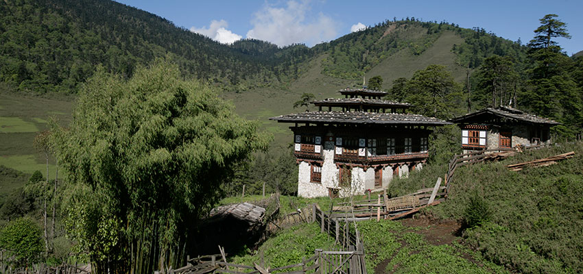 Farm stay in Bhutan